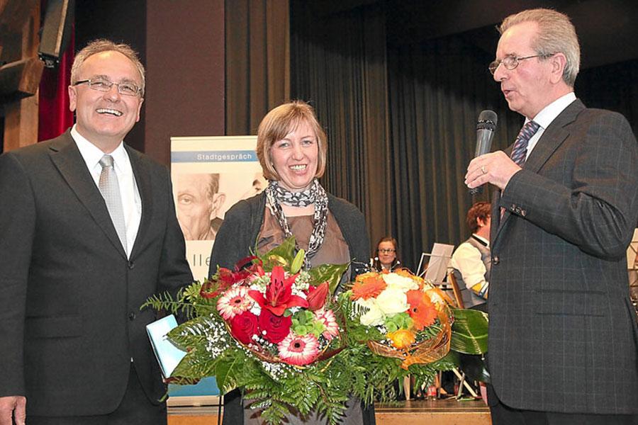 Wiederwahl von Bürgermeister Walter Klumpp am 17. April 2011