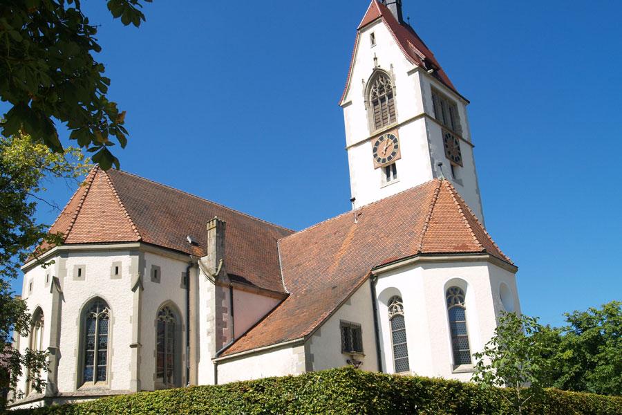 Kirche in Sunthausen