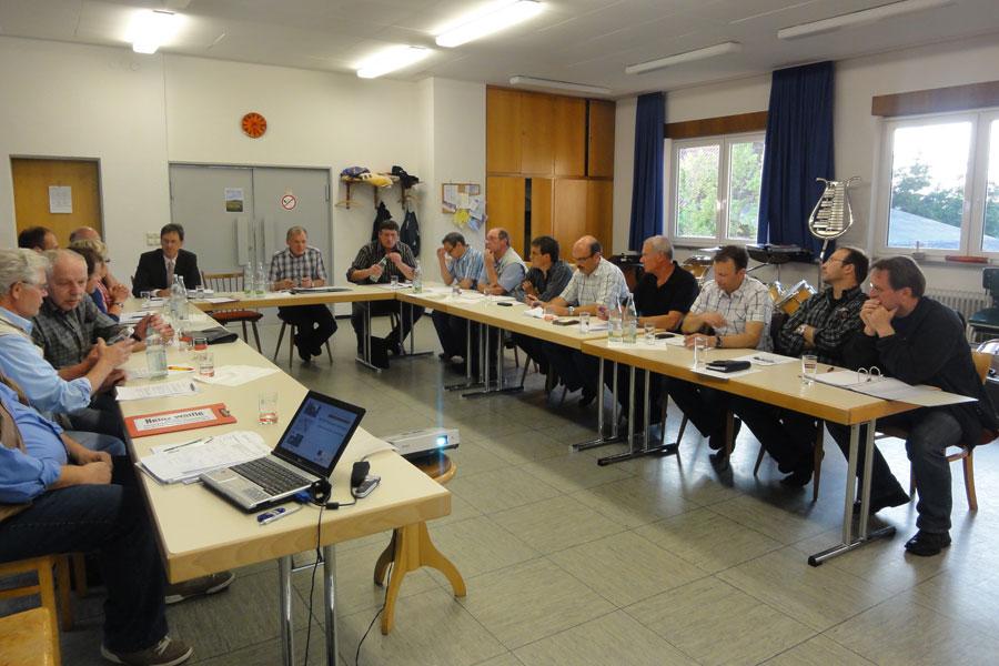 Sitzung der Ortschaftsräte