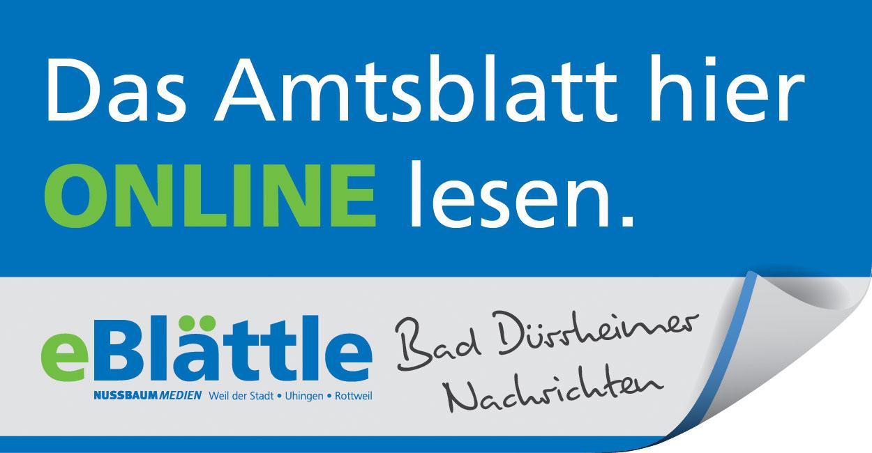 eBlättle Bad Dürrheimer Nachrichten