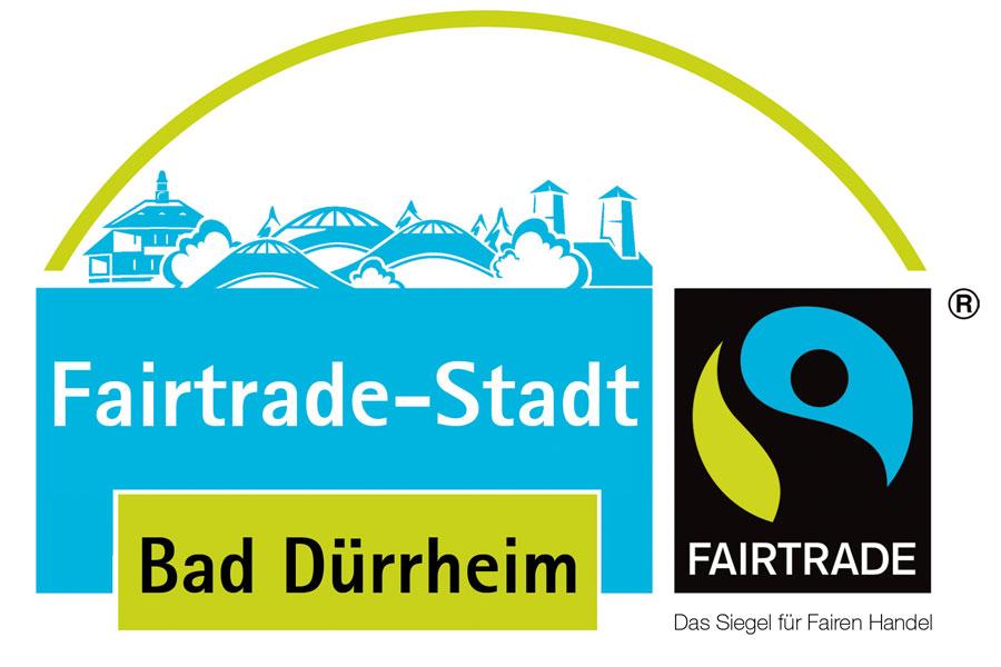 Logo Fairtrade-Stadt Bad Dürrheim