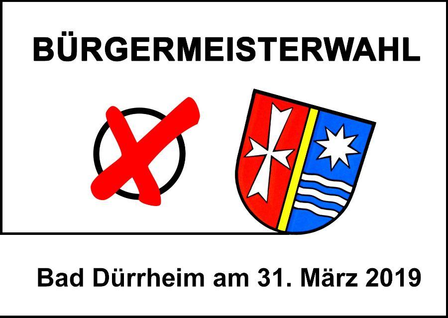 Logo Bürgermeisterwahl 2019