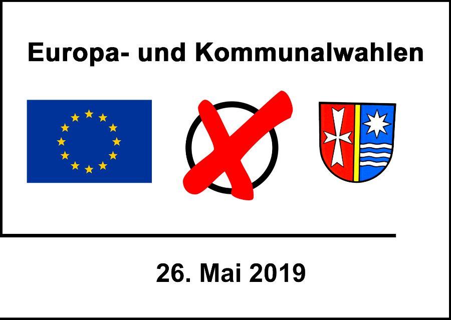 Logo Kommunal- und Europawahl