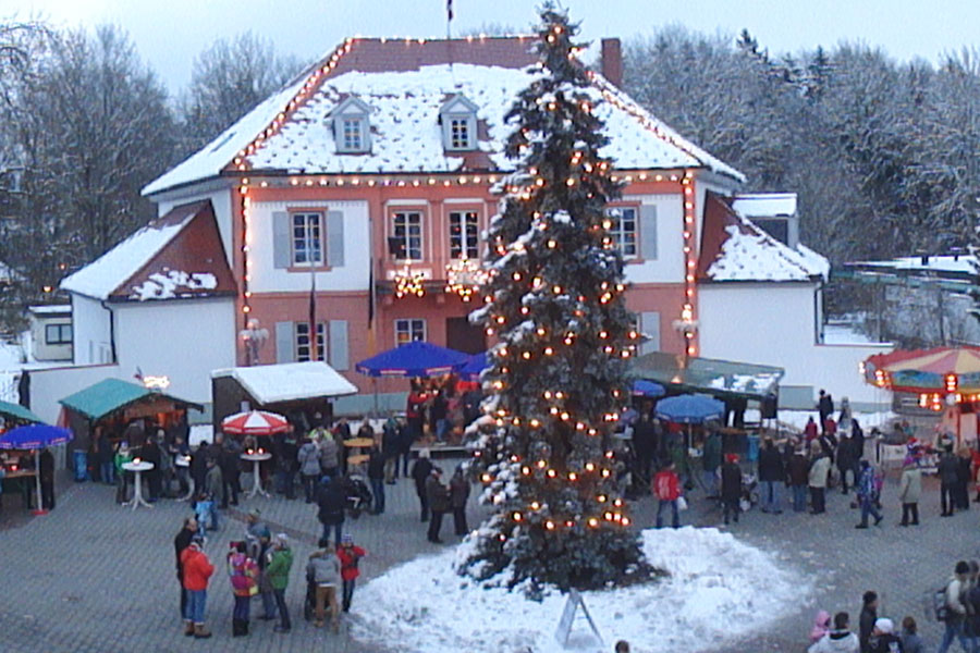 Christkindlemarkt auf dem Rathausplatz
