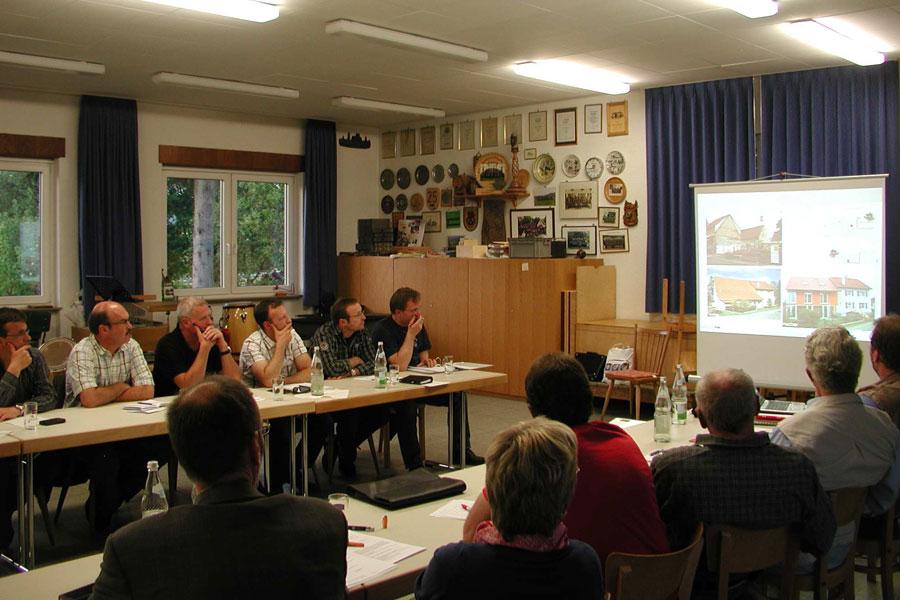Sitzung der Ortschaftsräte im Mai 2011
