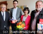 Verabschiedungen sowie ein Dienstjubiläum bei der Stadtverwaltung Bad Dürrheim