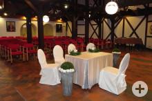 Weinbrennersaal im Haus des Gastes Bad Dürrheim