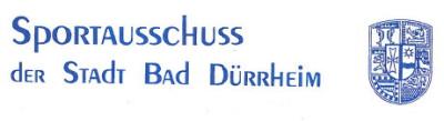 Sportausschuss der Stadt Bad Dürrheim