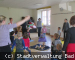 Muttertagsaktion im Kindergarten Funkelstein in Hochemmingen