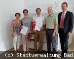 Dienstjubiläen bei der Stadtverwaltung Bad Dürrheim