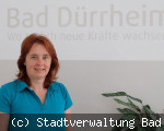 Nicole Mauthe neu bei der Stadtverwaltung Bad Dürrheim