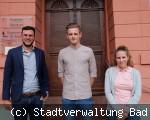 neue Auszubildende in der Bad Dürrheimer Stadtverwaltung
