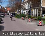 Parkplätze in der Friedrichstraße aufgehoben