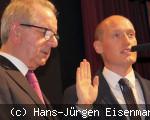 Amtseinführung von Herrn Bürgermeister Berggötz