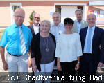 Verabchiedungen sowie Ehrung bei der Stadt Bad Dürrheim