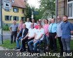 Bad Dürrheim - Mitfahrbank offiziel eingeweiht