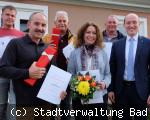 Stadtverwaltung feiert fünf Jubiläen
