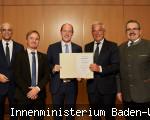 Urkundenübergabe an Bad Dürrheim