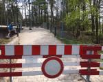 Bad Dürrheim - Wehranlage am Salinensee gesperrt