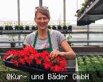 Bee- und Balkonpflanzenverkauf in der Kurgärtnerei Bad Dürrheim