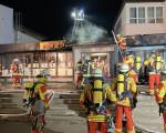 Brand der Grund- und Werkrealschule Bad Dürrheim