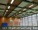 Sporthallenbeleuchtung Realschule am Salinensee