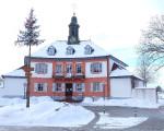 Rathaus bei Winter
