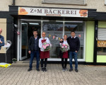 Eröffnung Lebensmittelgeschäft Hochemmingen