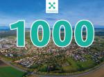 1000 Bad Dürrheimerinnen und Bad Dürrheimer auf Crossiety