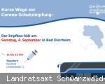 Impfbus erneut in Bad Dürrheim