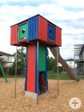 Spielplatz auf Stocken Spielturm