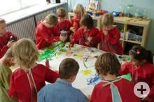 """Kindergarten """"Funkelstein"""" Hochemmingen - Wir gestalten gemeinsam"""
