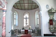Innenaufnahme der Kirche in Oberbaldingen