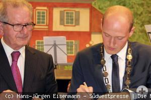 Amtseinführung von Herrn Bürgermeister Beröggtz