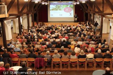 Bürgerbeteiligungsprozess mit 300 Interessierten gestartet