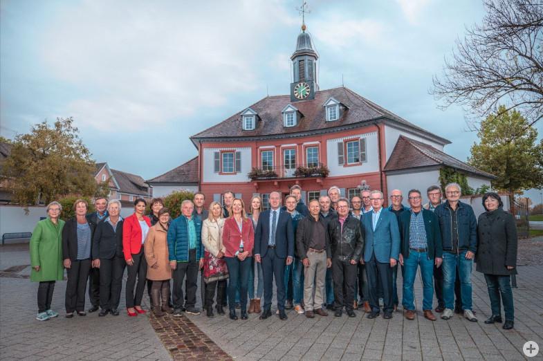 Der Bad Dürrheimer Gemeinderat. Auf dem Foto fehlt Stadtrat Jürgen Schwarz.