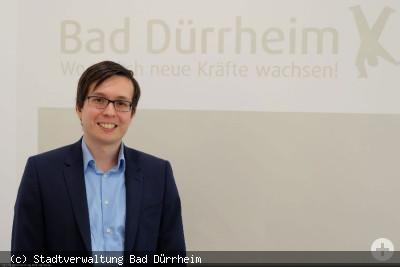 Stadtverwaltung Bad Dürrheim - Stefan Stamer übernimmt den neu geschaffenen Kundenbereich Gremiendienste