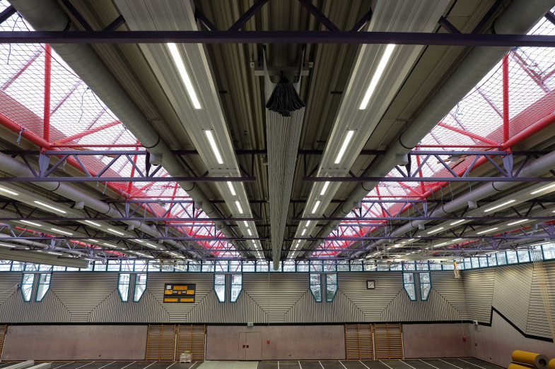 Salinensporthalle Beleuchtung