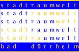 Logo Stadtraumwelt