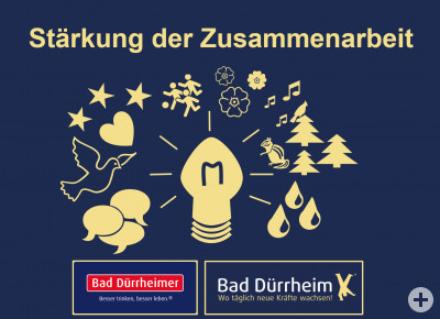 Logo Vereinbarung Bad Dürrheimer Mineralbrunnen/Stadtverwaltung