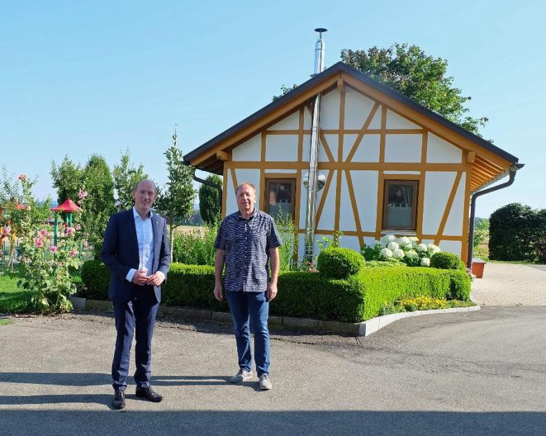 Armin Wehrle und Jonathan Berggötz