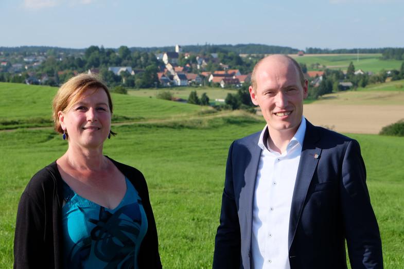Astrid Schweizer-Engesser und Jonathan Berggötz
