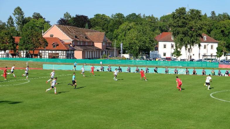 Spiel der U19 Deutschland gegen Schweiz